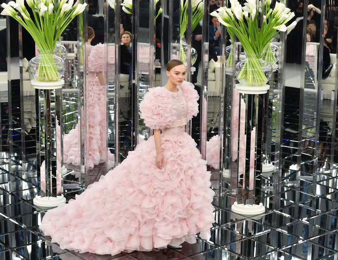 Lily-Rose Depp, the Chanel Couture Bride