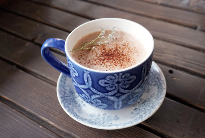 Lavender Hot Chocolate - Lead
