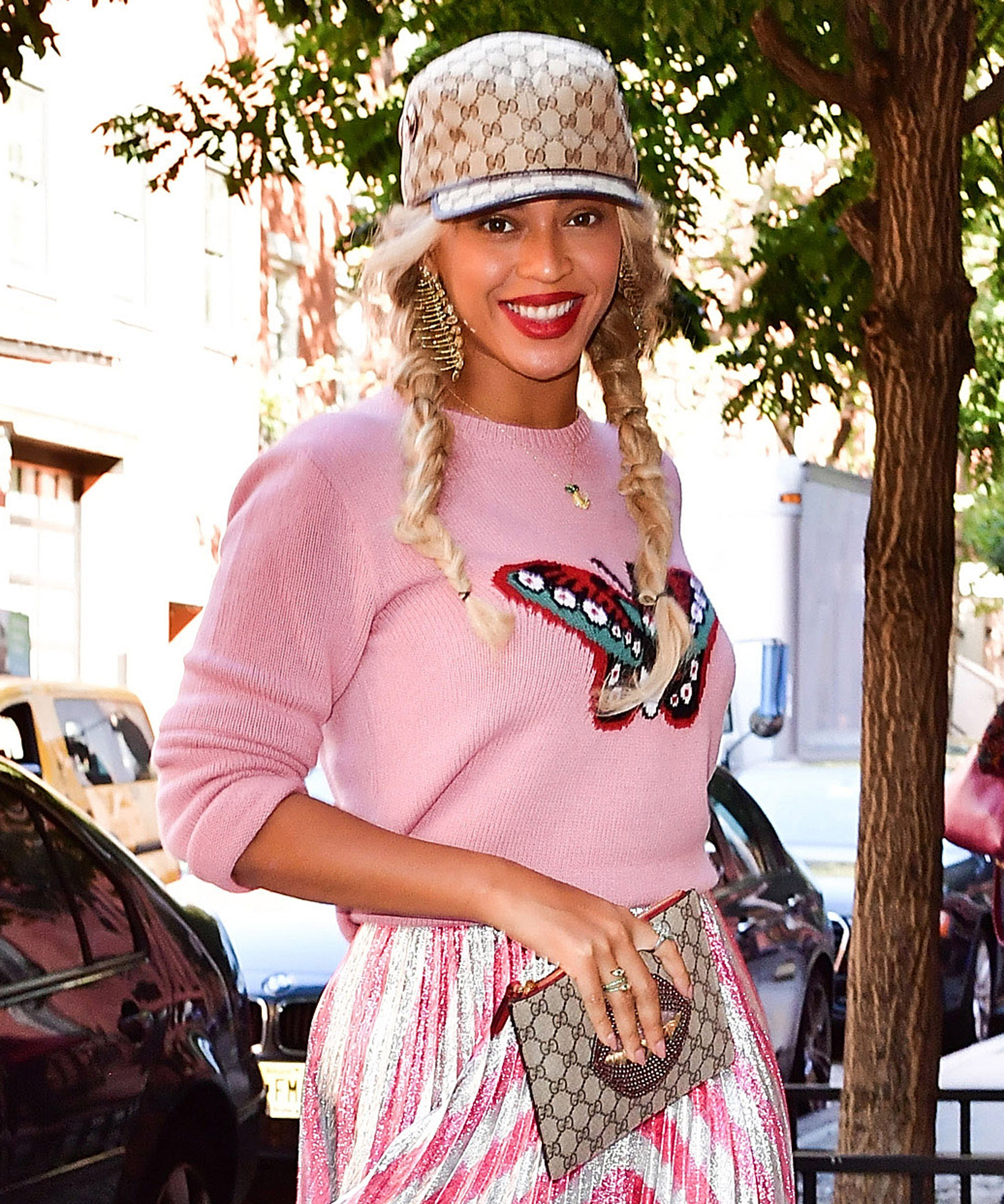 Beyonce Knowles NYC Street Style - Lead 2017