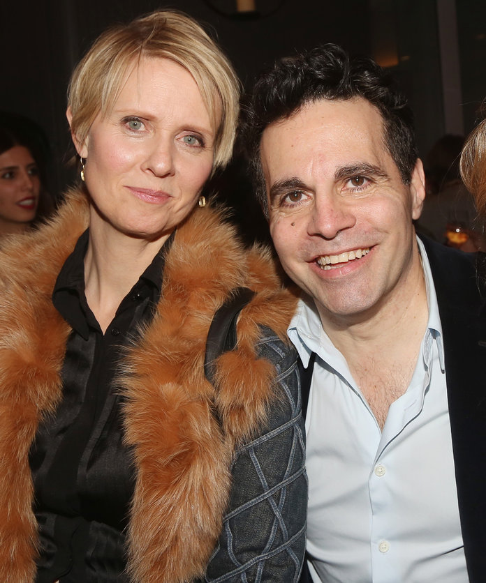 Cynthia Nixon, Mario Cantone Evening at The Talk House - EMBED