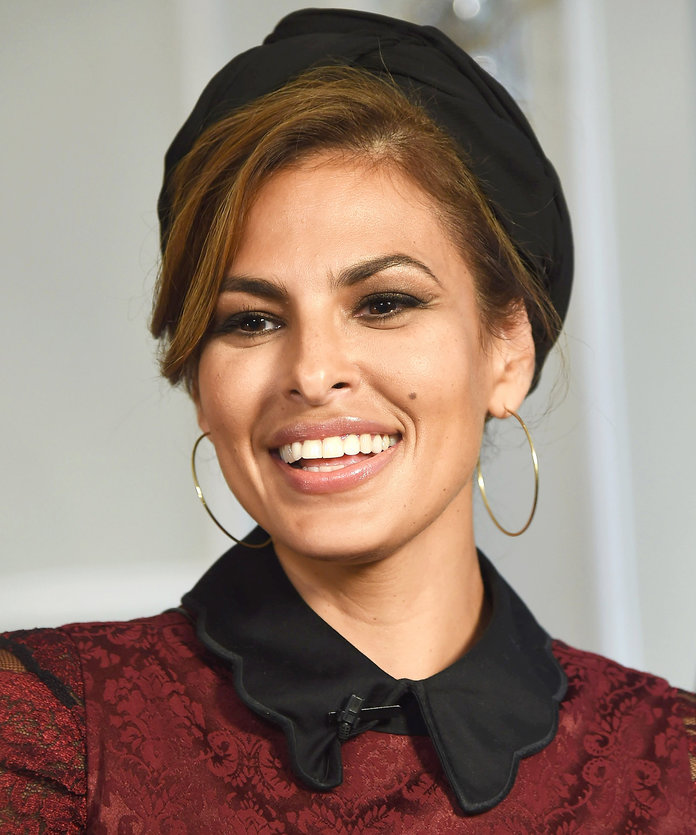 Eva Mendes Got a Bob and She's Loving It