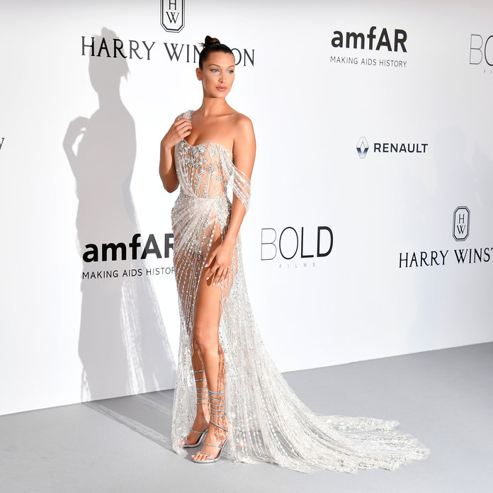 Cannes - Amfar - Red Carpet - Lead