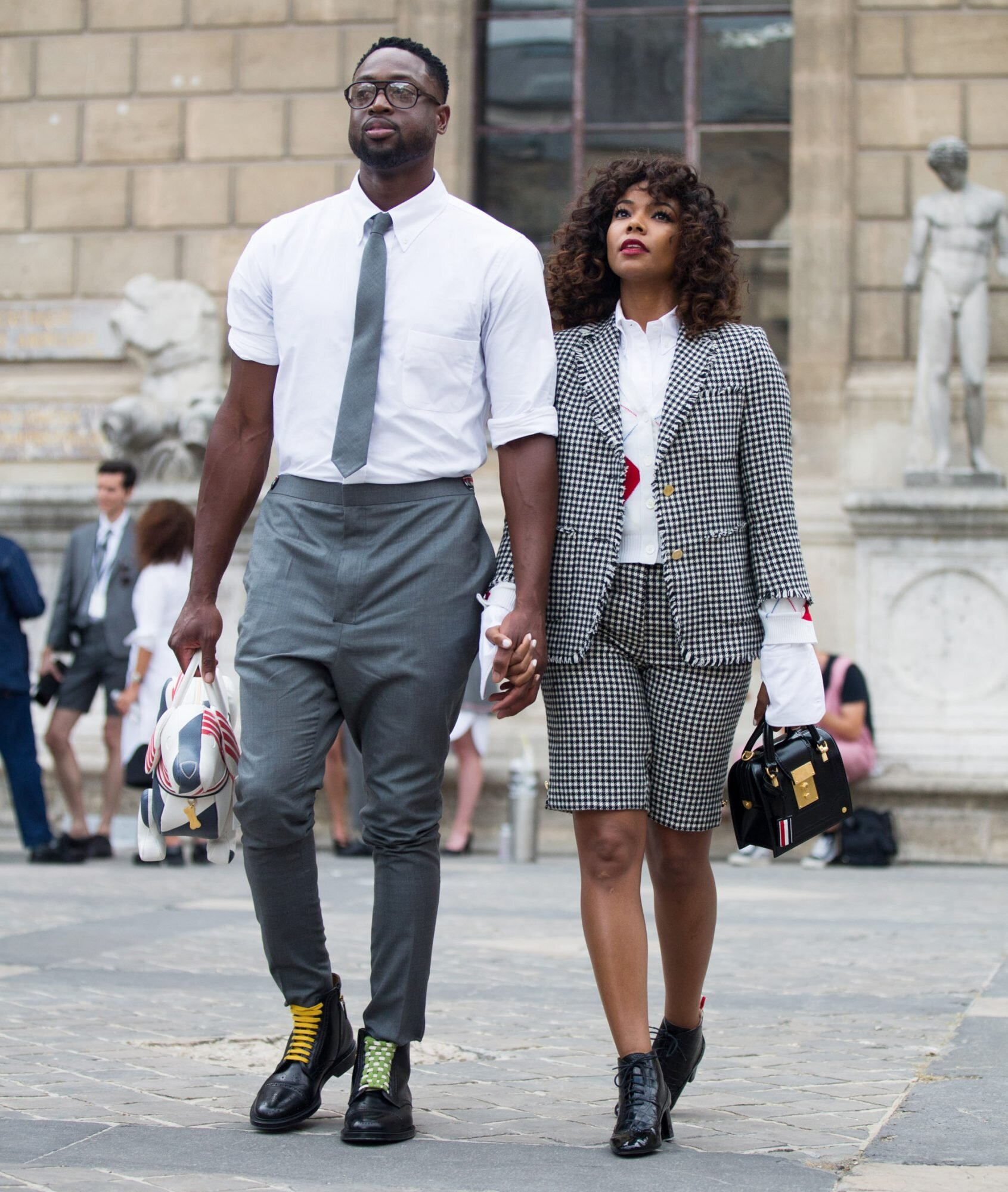 Dwyane Wade and Gabrielle Union's Paris Fashion Week Style | InStyle com