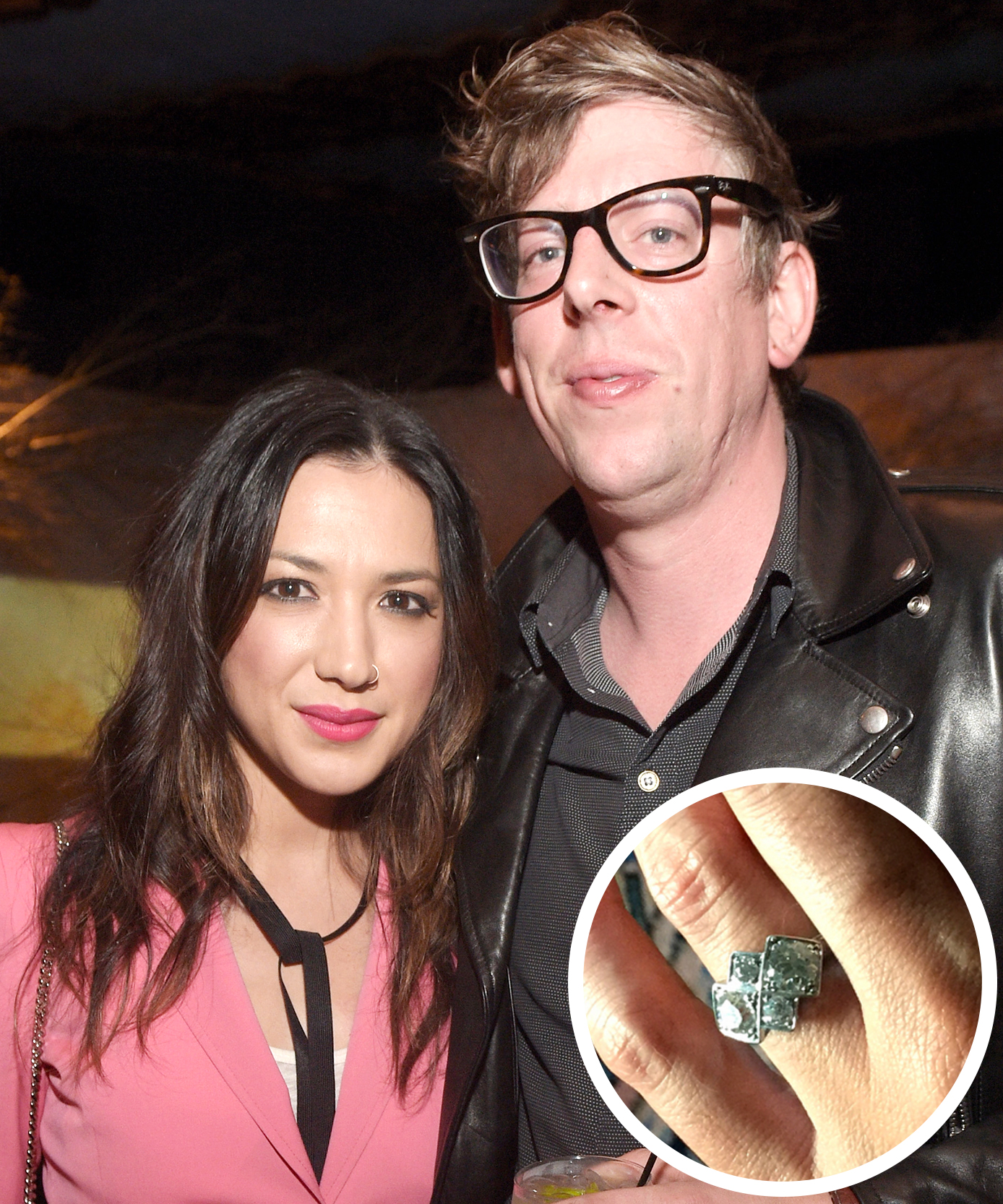 Michelle Branch and Patrick Carney