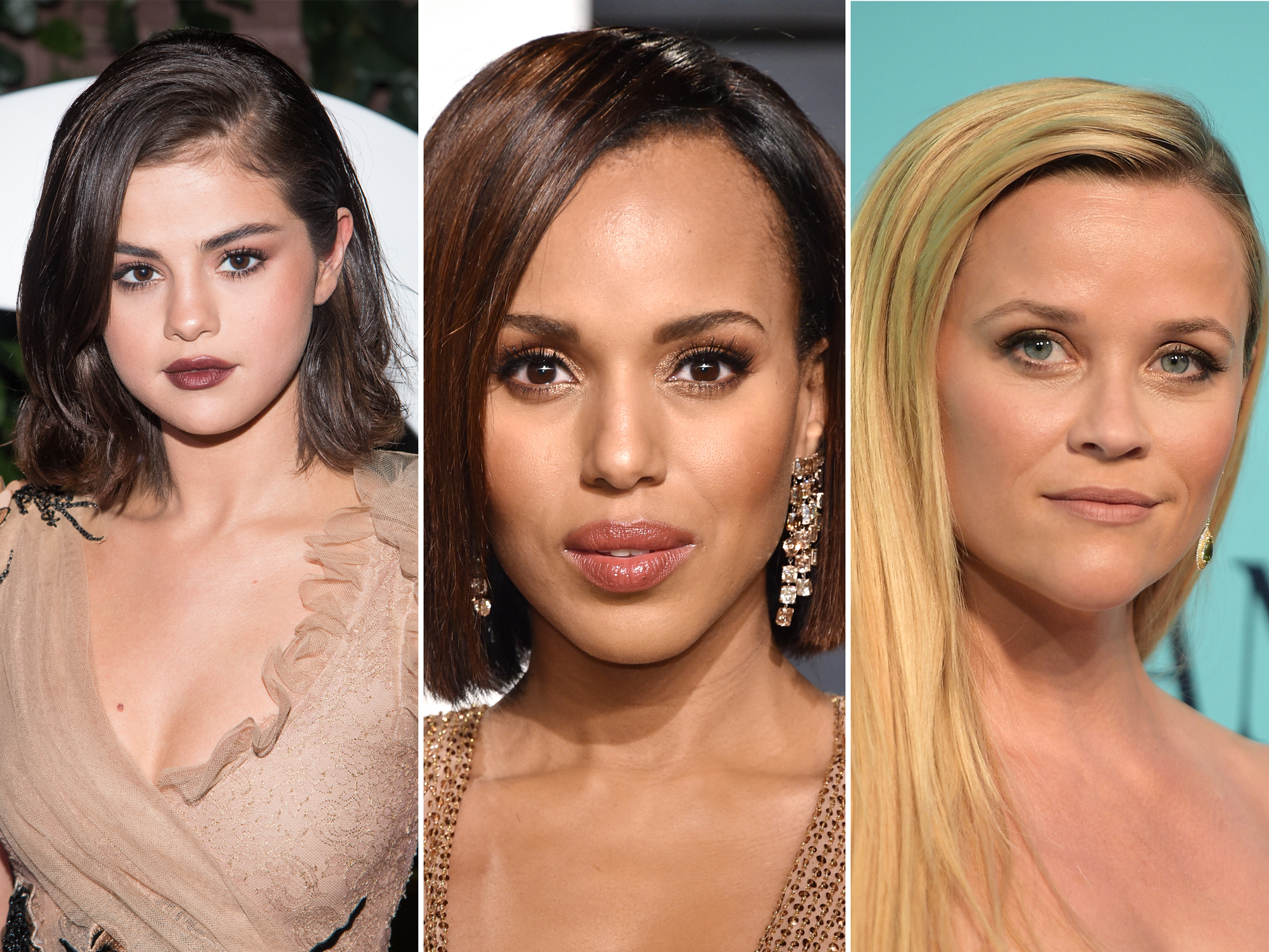 Selena Gomez, Kerry Washington, Reese Witherspoon - lead