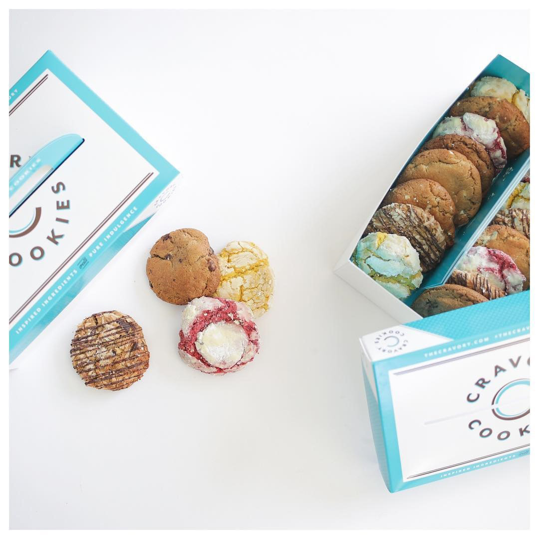 The Cravory Cookie Box subscription box