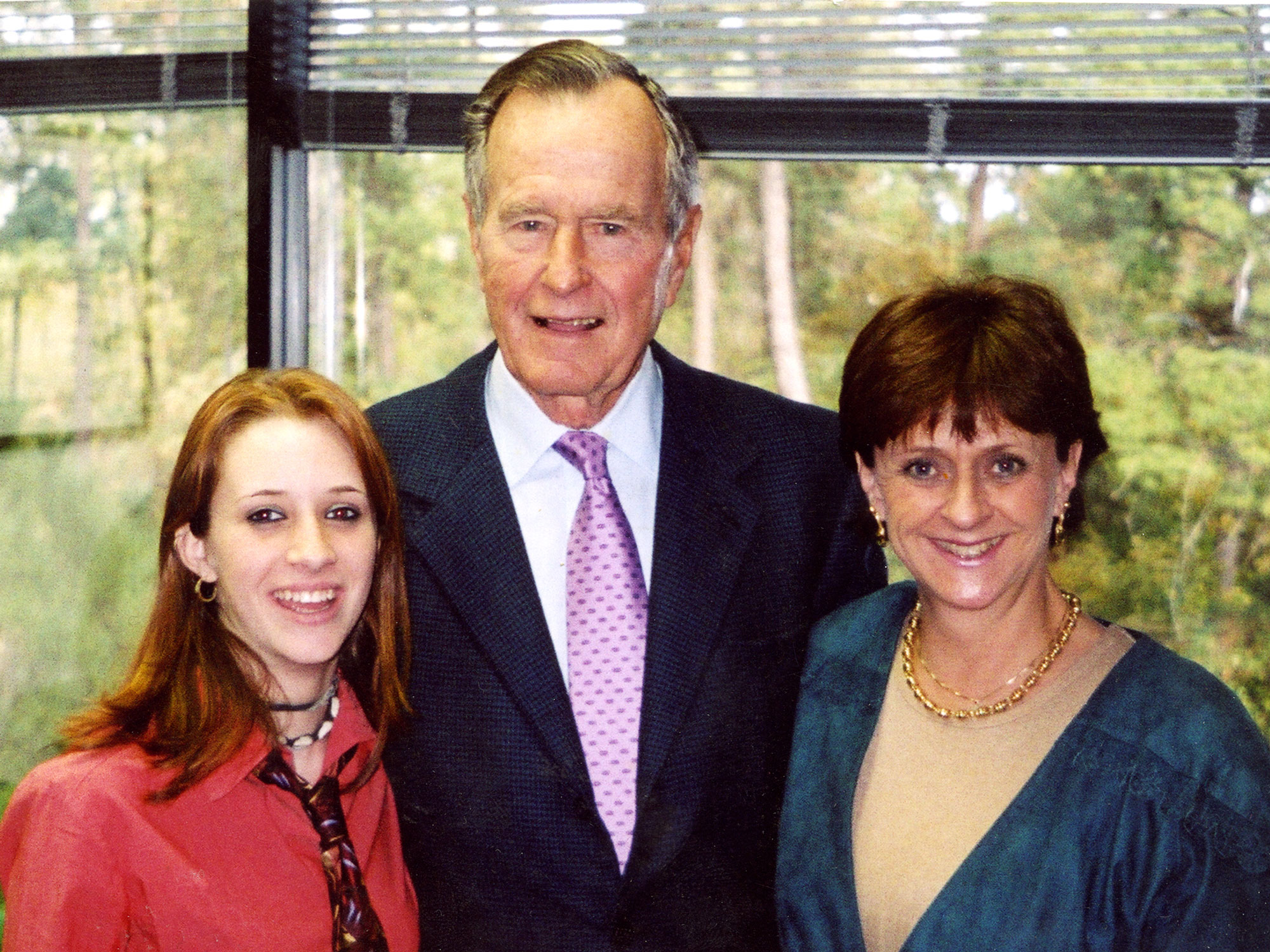 George H.W. Bush - Lead