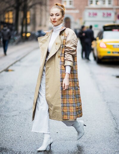 67cafd9c55a Burberry Adds Rainbow to Its Classic Check Pattern to Support LGBTQ ...