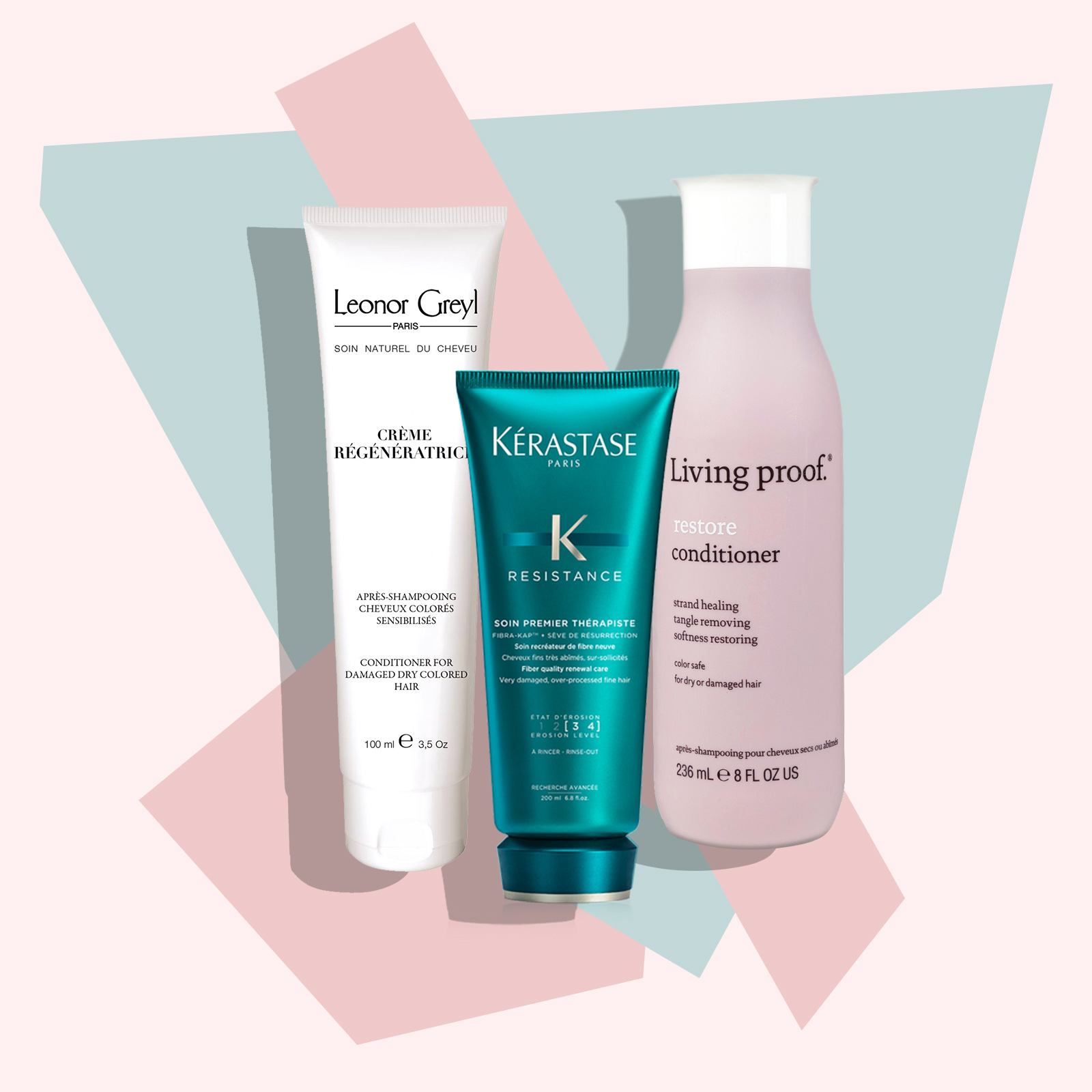 Damaged Hair Conditioners - Lead