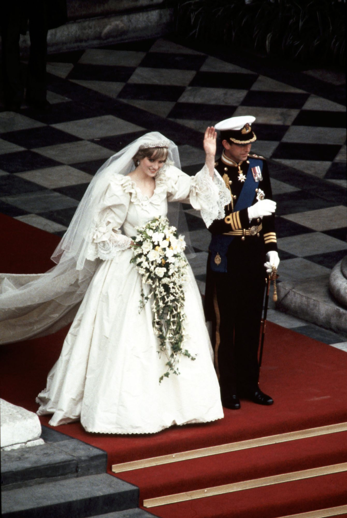 Princess Diana wedding royal rules embed