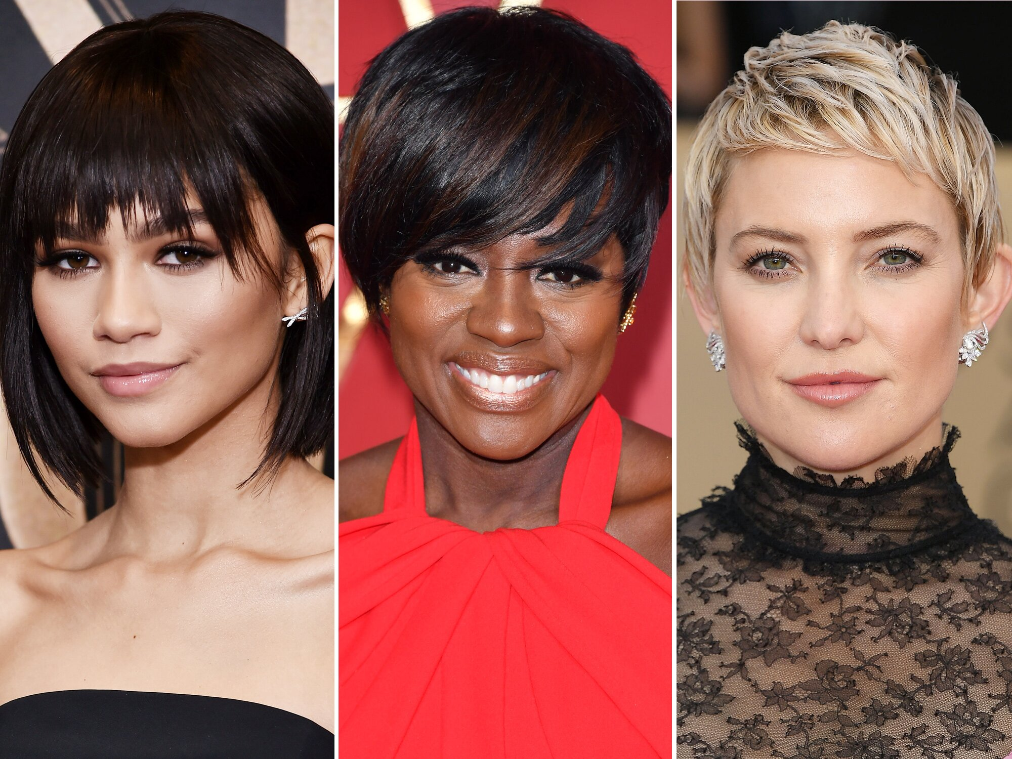 Short Hairstyles With Bangs To Try This Spring Instyle Com
