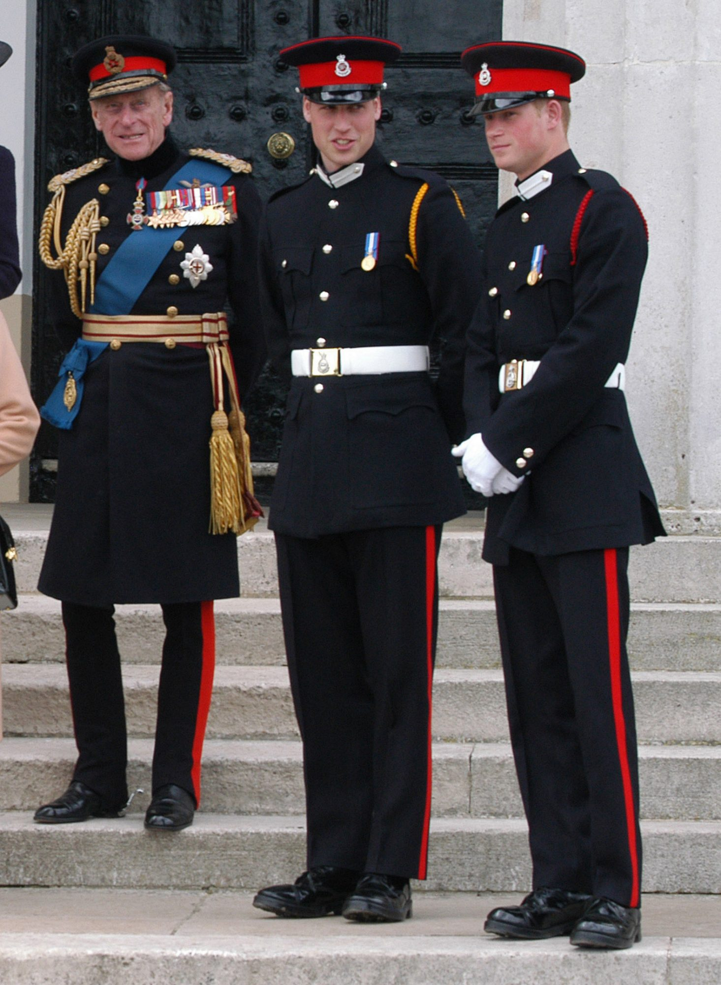 Prince Harry Passing Out At The Sovereign'S Day Parade