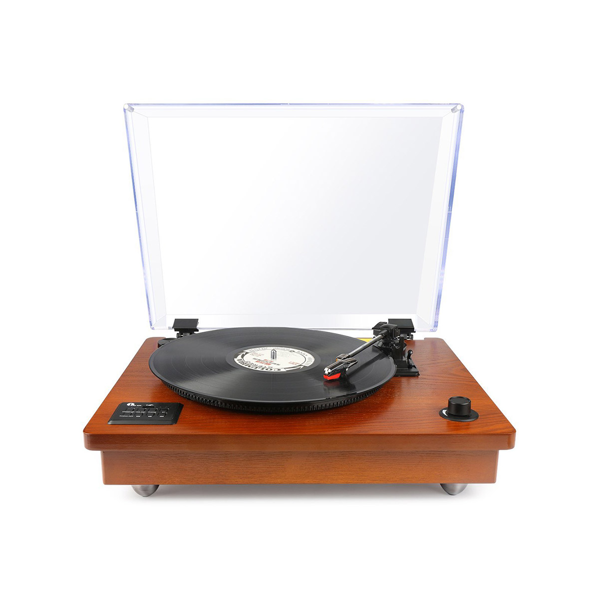 Vintage Vinyl Record Turntable Player