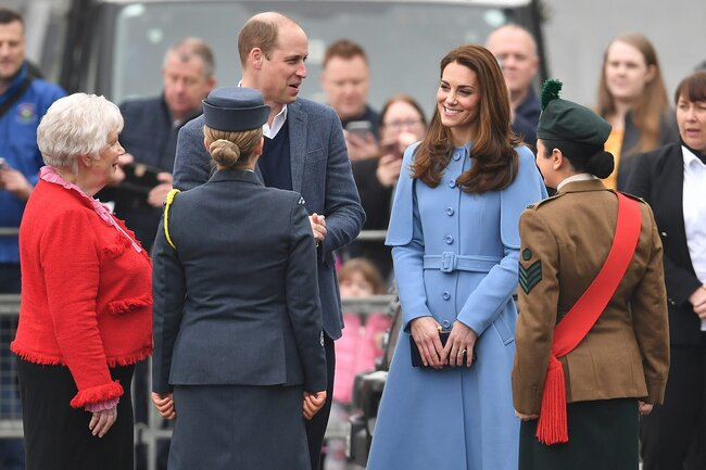 Duke And Duchess Of Cambridge Visit Northern Ireland - Day Two