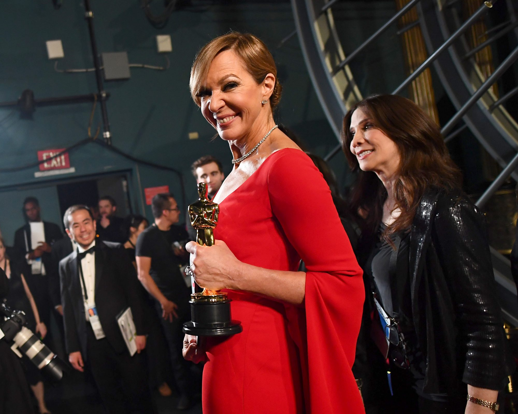 90th Annual Academy Awards - Backstage