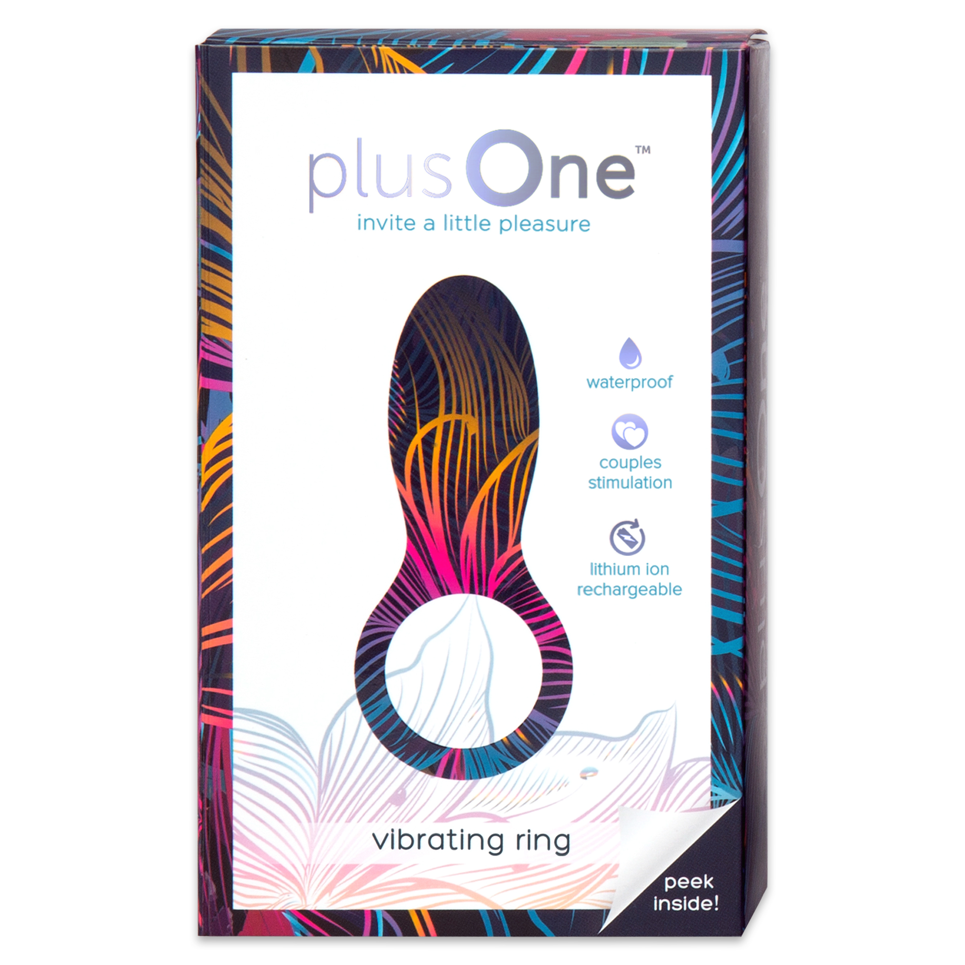 plusOne Vibrating Ring