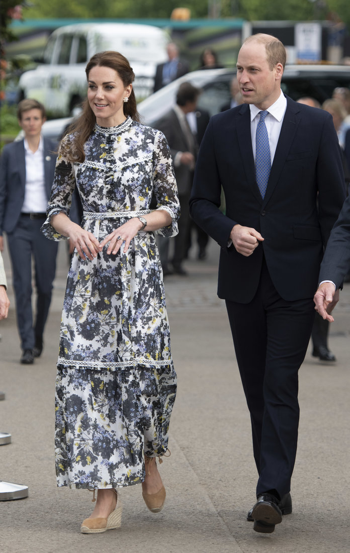 Prince William and Kate Middleton Talked to a Radio Host After he Commented on Princess Charlotte's First Day of School