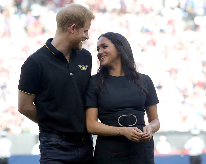 """The Royal Protocol for Meeting Meghan and Harry Is Reportedly """"Very Intense"""