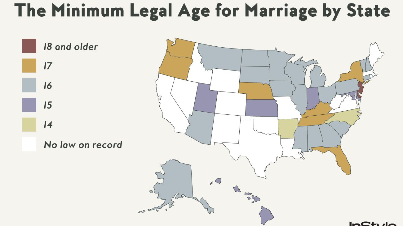 Some States Are Trying to Make it Easier to Marry Someone Underage