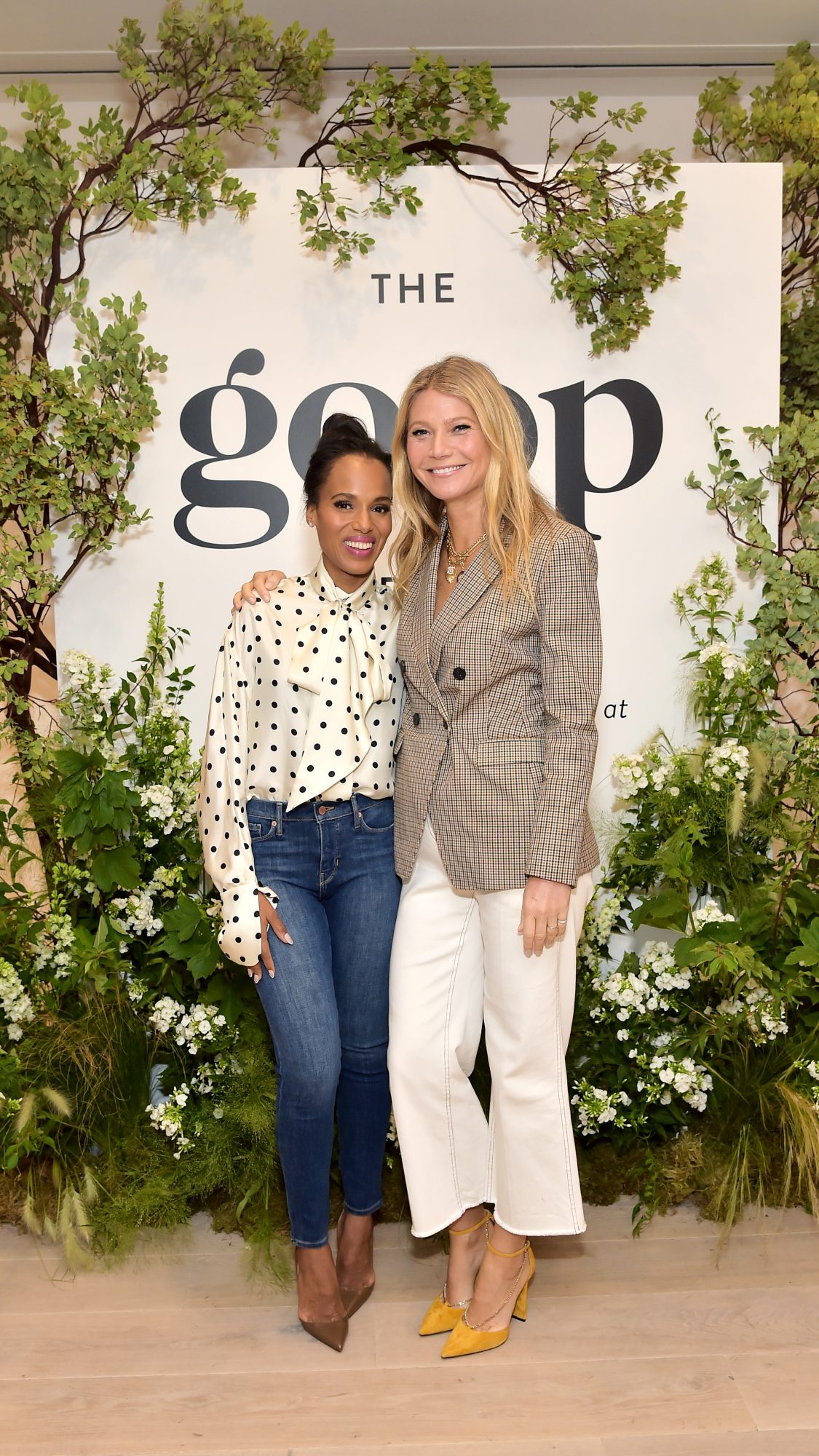 Gwyneth Paltrow Kerry Washington goop