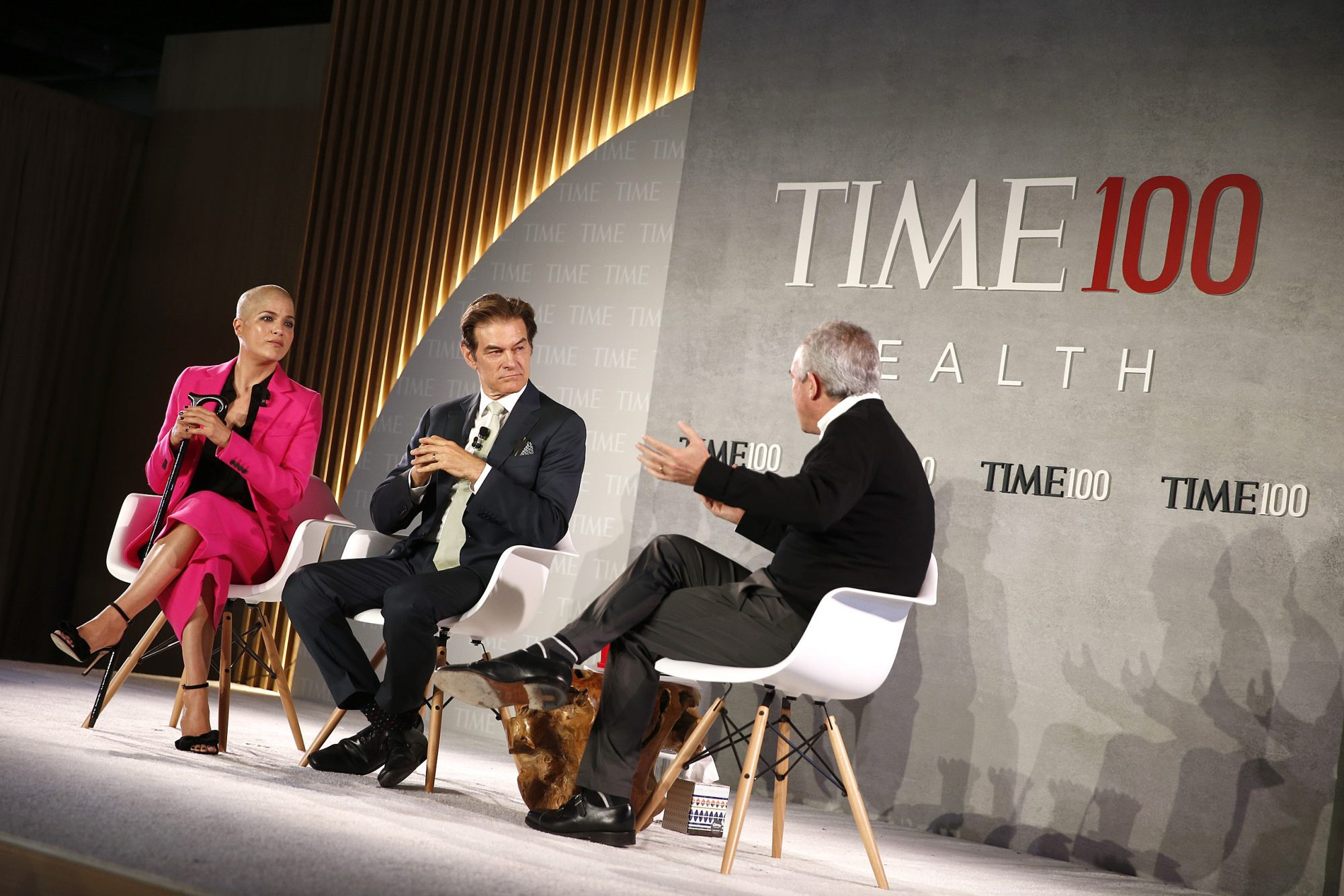 Selma Blair on Stage at the TIME 100 Health Summit