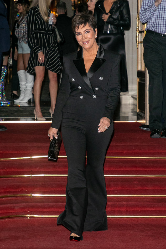 Kris Jenner In Paris - September 27, 2019