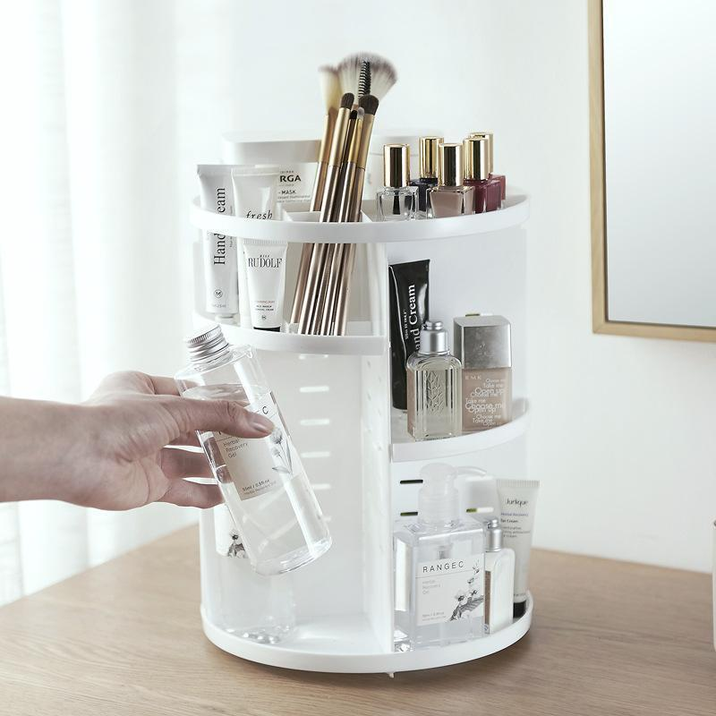 This Cosmetics Organizer Was Made for People With Too Much Makeup