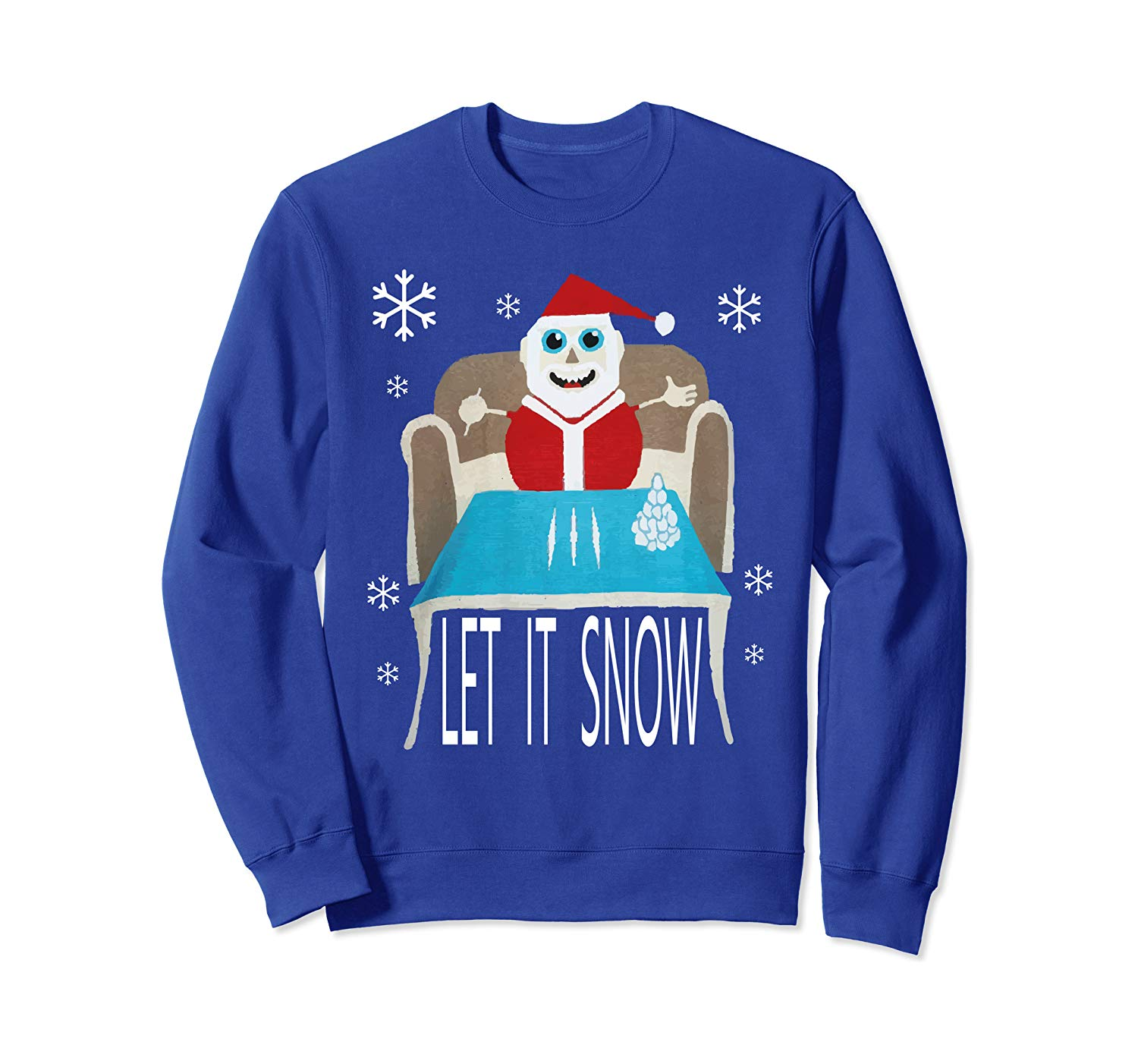 Walmart's Cocaine Santa Sweater Knockoff on Amazon