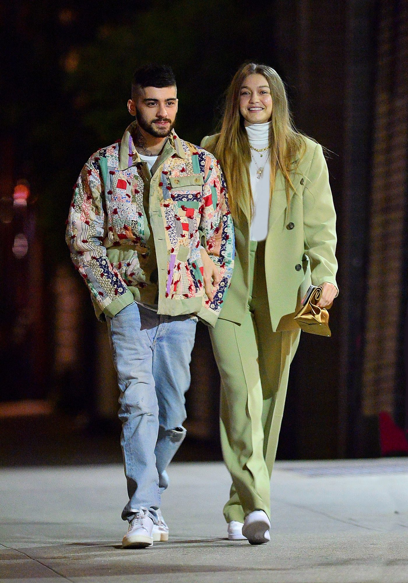 Gigi Hadid's Date Night Purse Is Giving Me High School Cafeteria Nostalgia