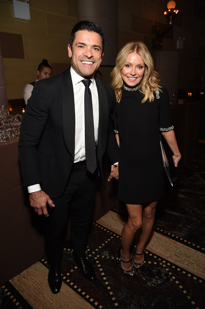 Kelly Ripa and Mark Consuelos - Radio Hall of Fame Class Of 2019 Induction Ceremony