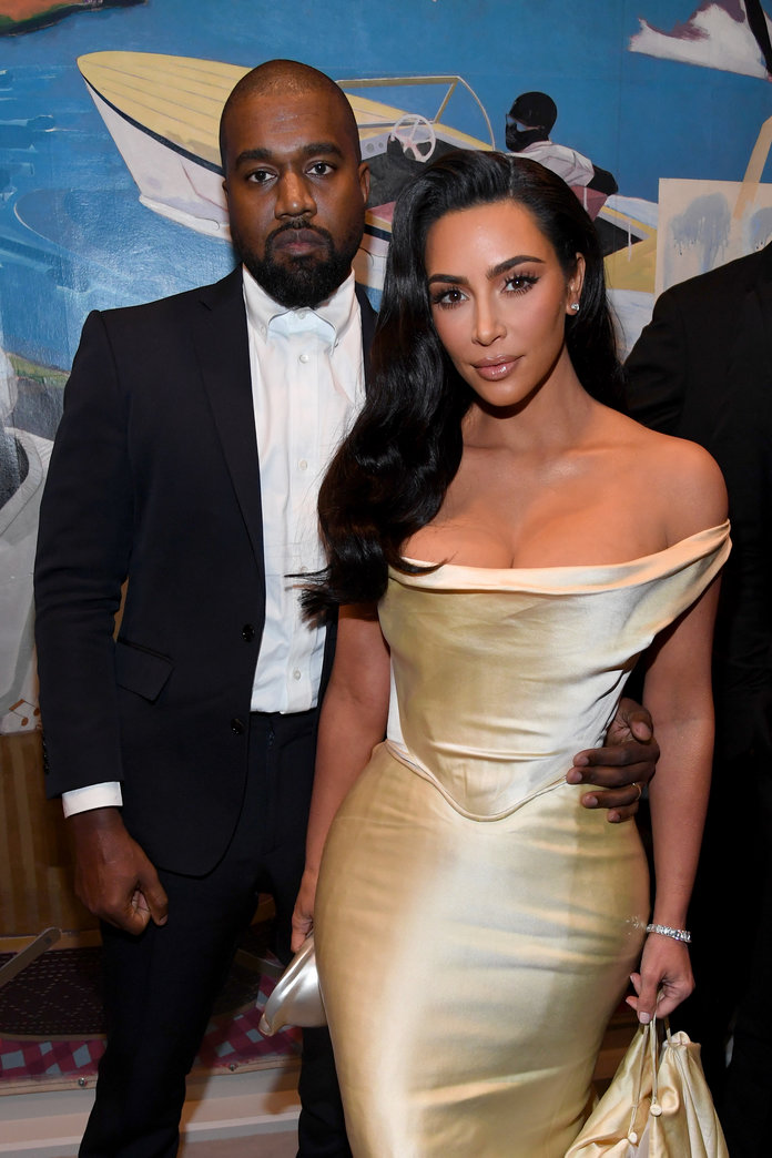 Kanye West Engraved a Personal Text Message Into a Necklace For Kim Kardashian