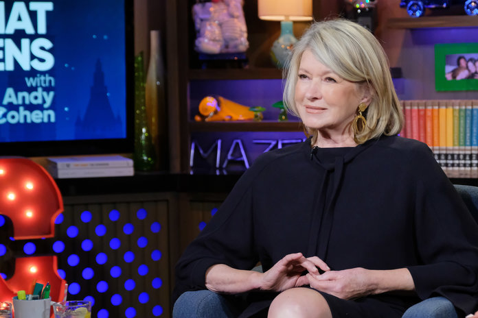Martha Stewart Watch What Happens Live With Andy Cohen