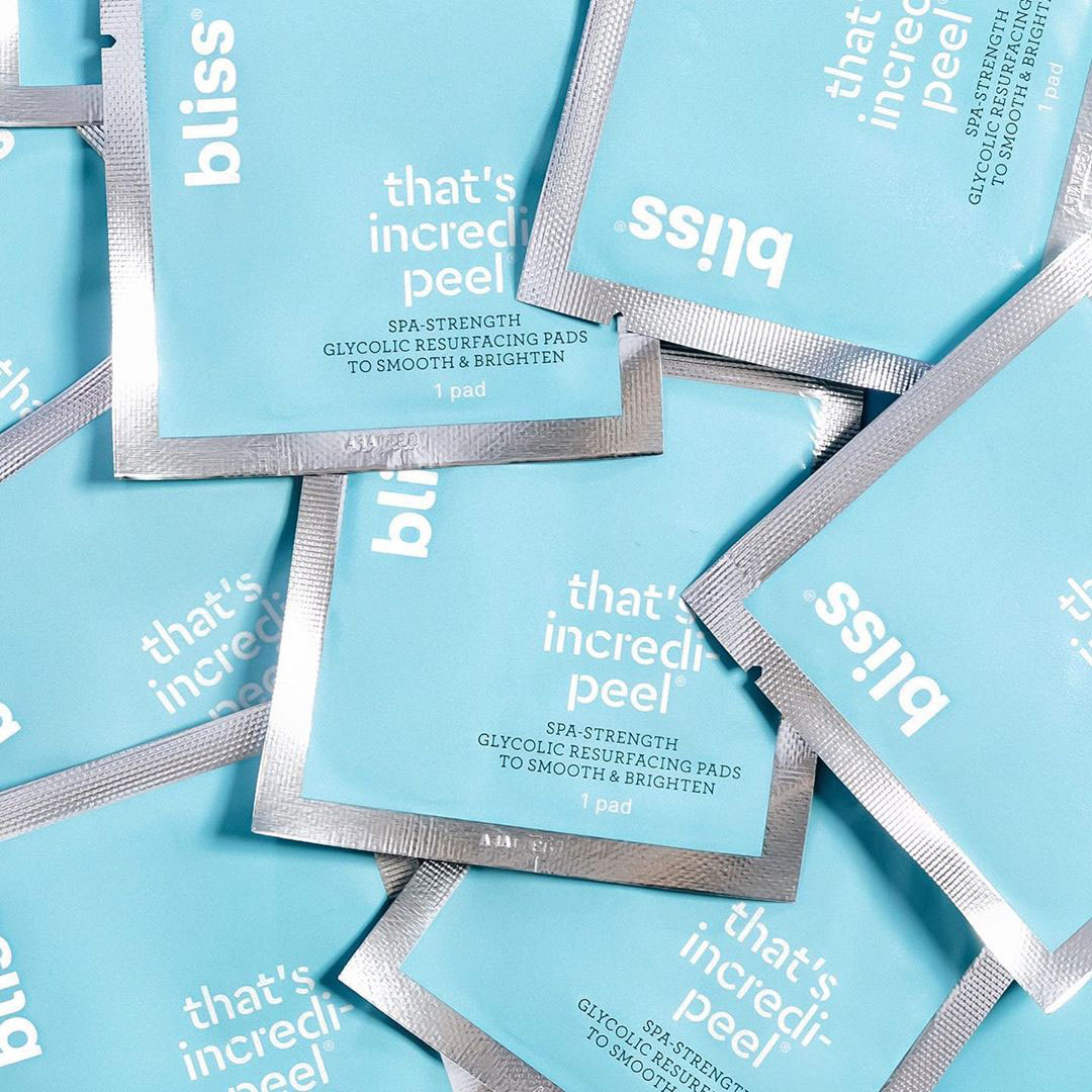 Bliss That's Incred-peel Wipes