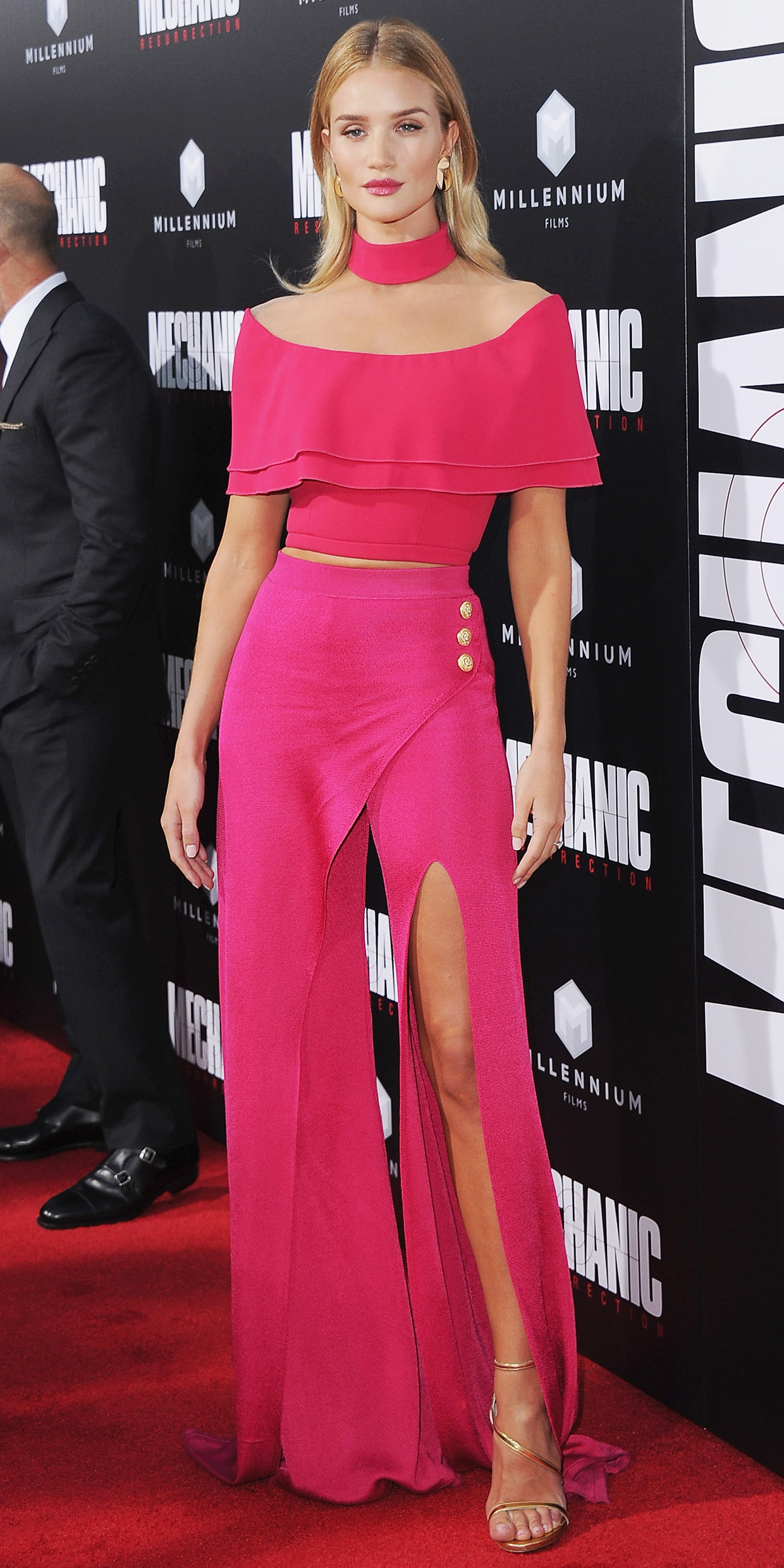Actress arrives at the Los Angeles Premiere  Mechanic: Resurrection  at ArcLight Hollywood on August 22, 2016 in Hollywood, California.
