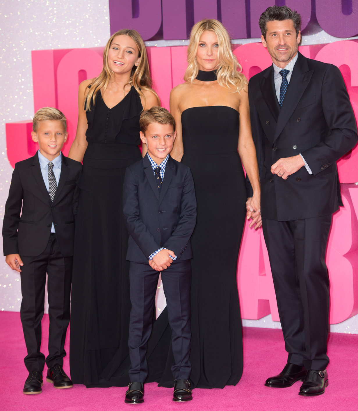 Patrick Dempsey and Family - Embed