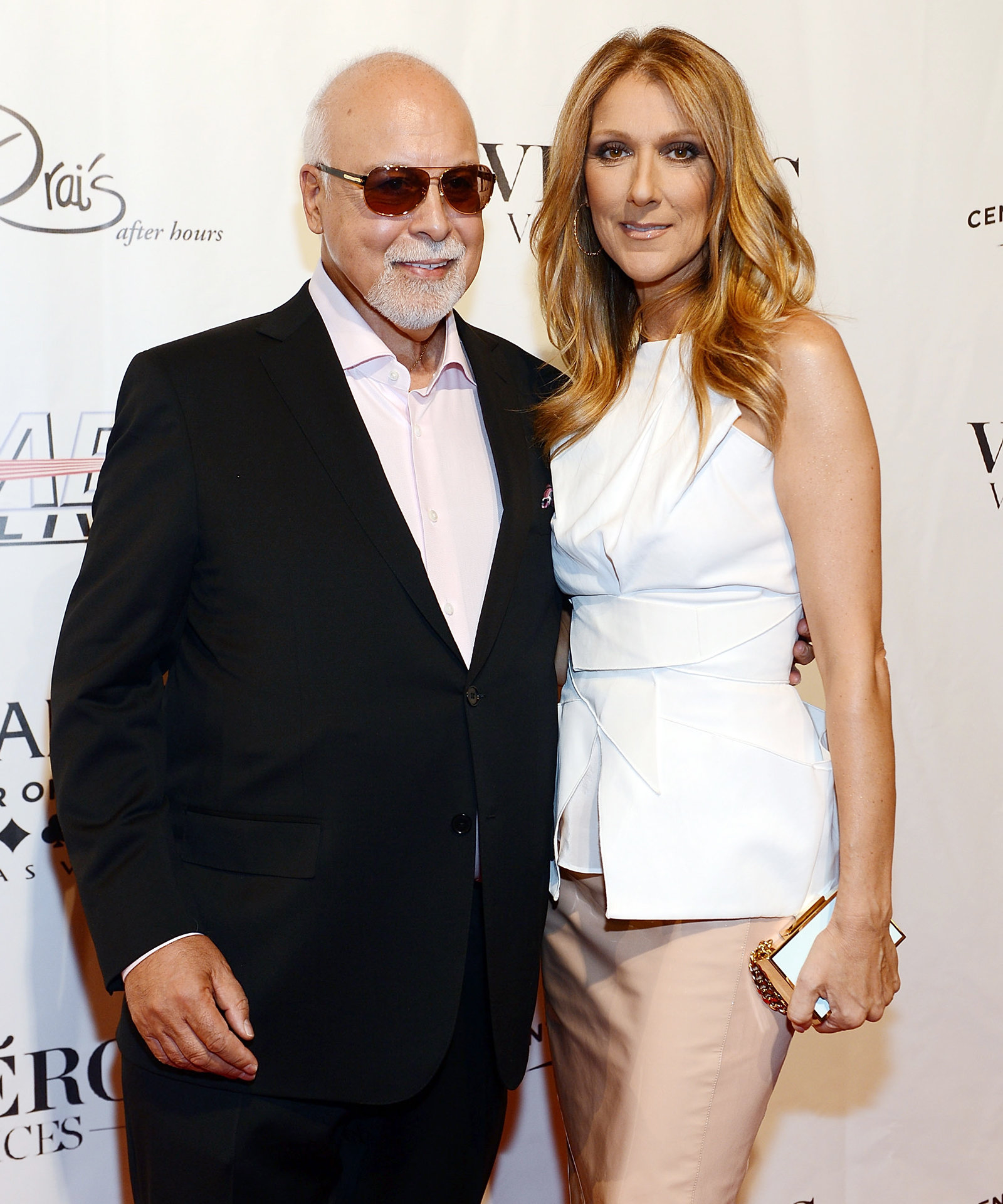 Celine Dion and Rene Embed