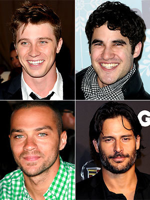 Garret Hedlund, Darren Criss, Jesse Williams, Joe Manganiello