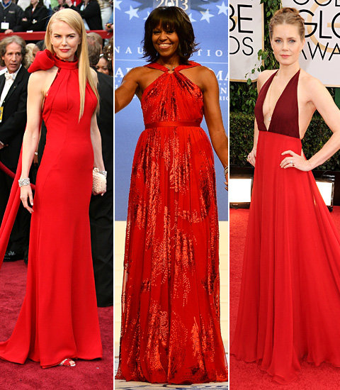 red-halter-dresses
