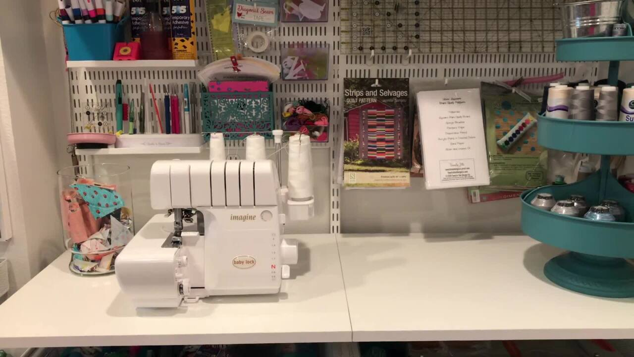 Tour Beth's Sewing Space