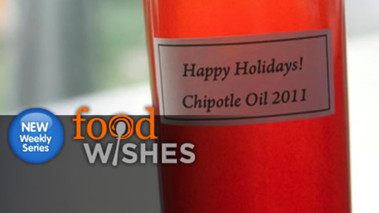 Homemade Chipotle Oil