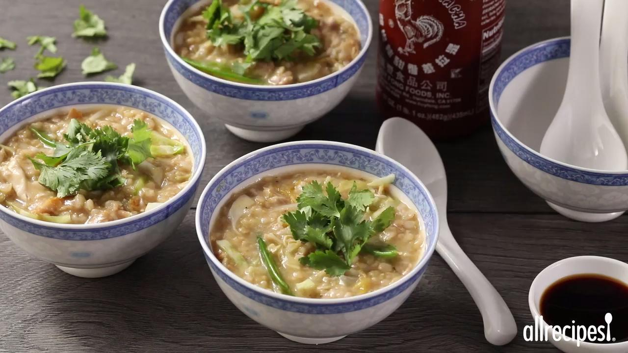 Chicken Jook with Lots of Vegetables