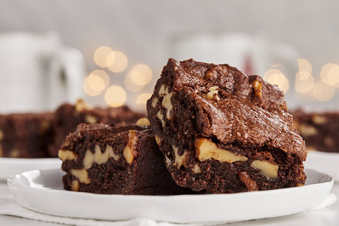 Ghirardelli® One-Bowl Flourless Brownies