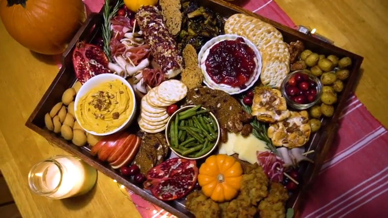 This Thanksgiving Charcuterie Board Is Your Answer to a Scaled-Down Holiday