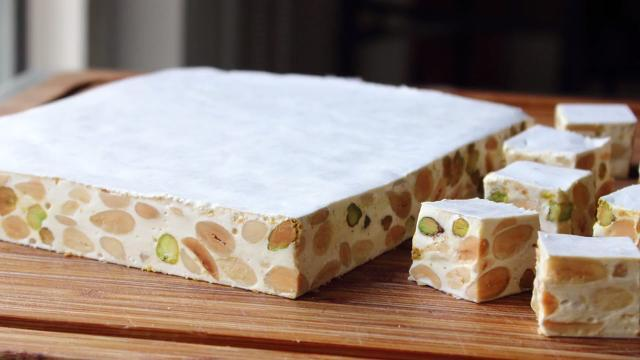 Torrone (Italian Nut and Nougat Confection)