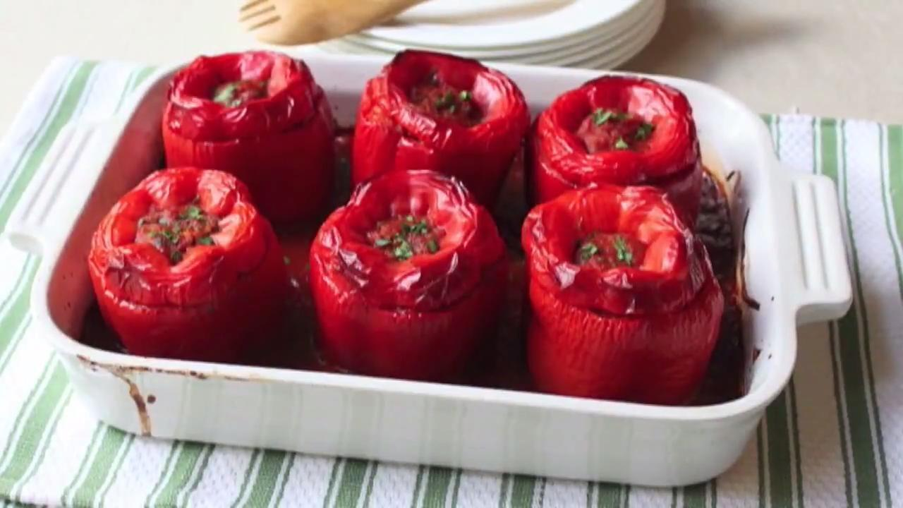 Chef John's Stuffed Peppers