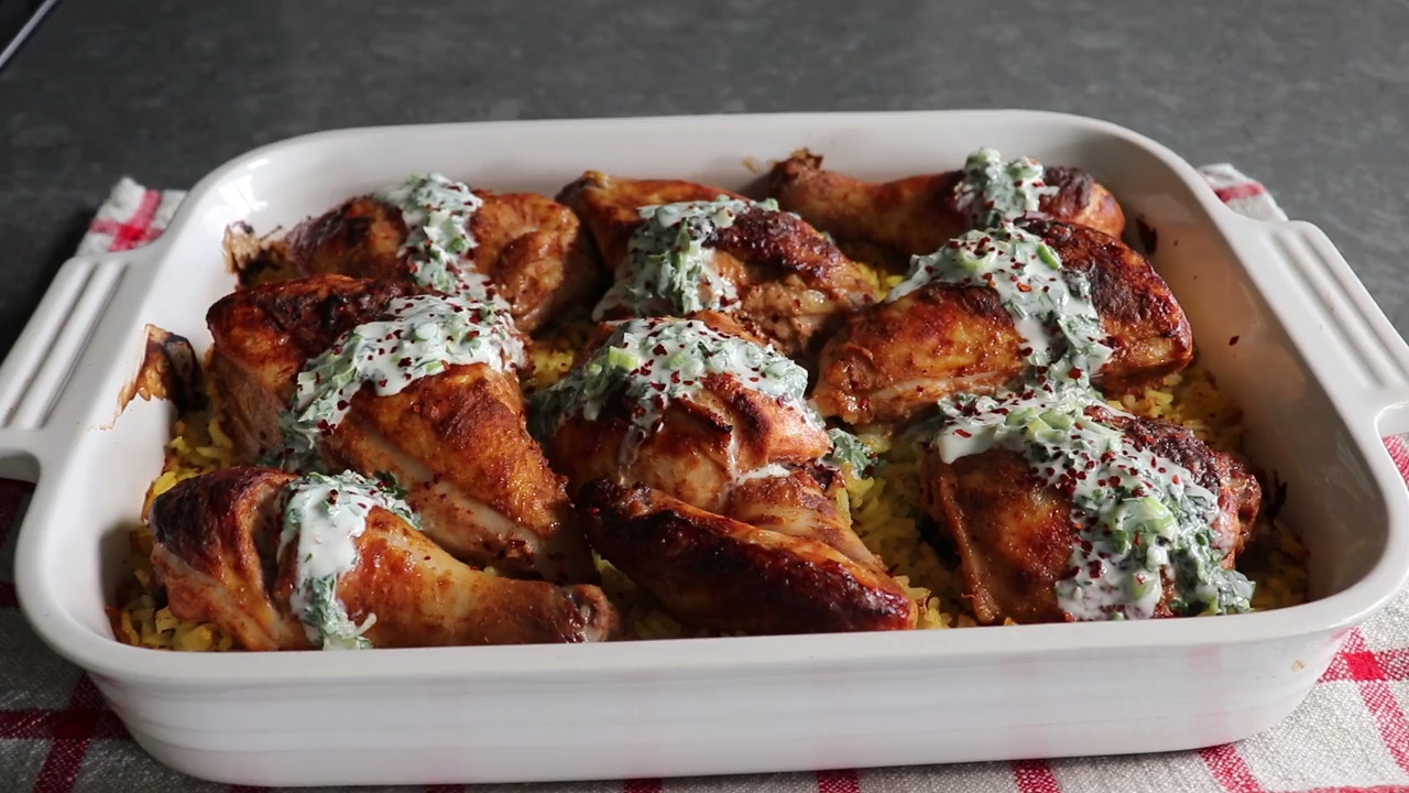 Exotic Chicken and Rice Casserole