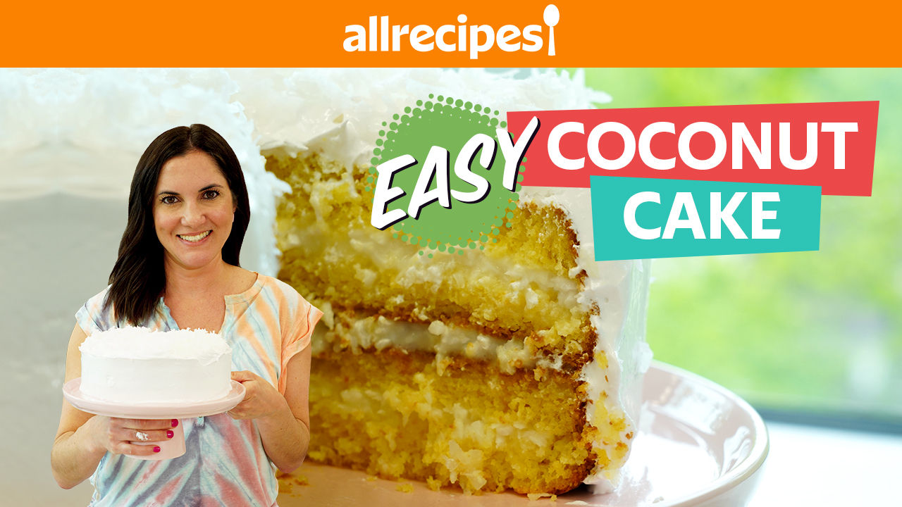 Simply the Best Coconut Cake