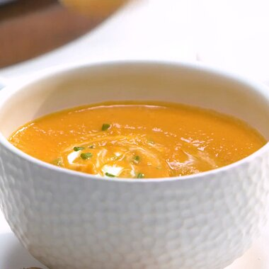 sweet potato carrot apple and red lentil soup recipe
