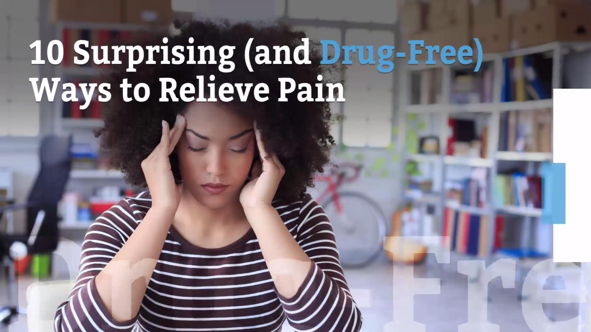 Natural ways to manage pain