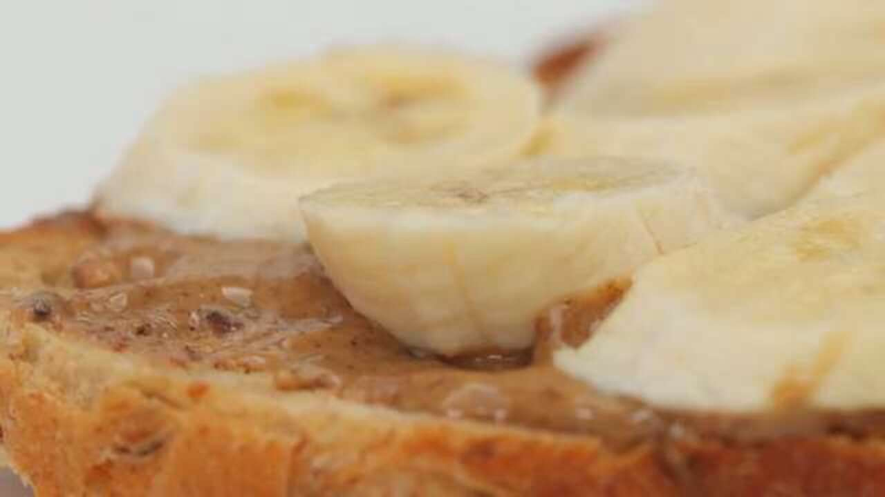 Banana and Almond Butter Toast